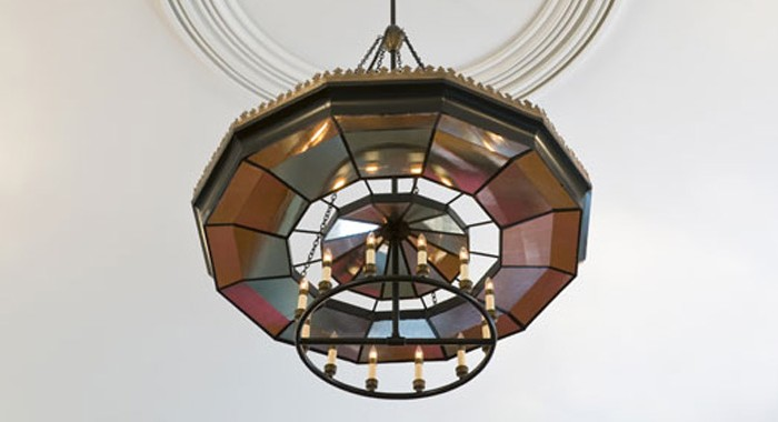 Chandelier Historic Restoration Orford Congregational Church Completed