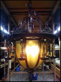 Restored Washington Irving Chandelier