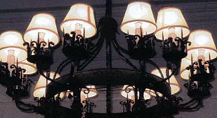 Iron Chandelier to be Replicated for Private Residence