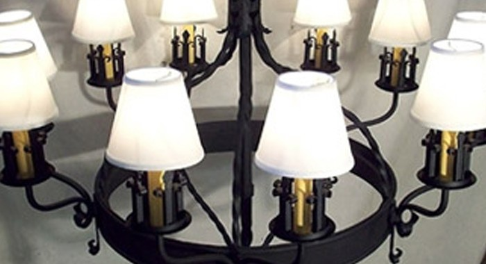 European Chandelier Replicated for Private Residence