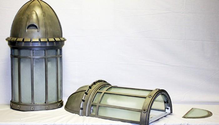 Attica Prison Wall Lanterns Restoration Completed