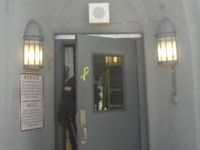 Attica Prison Restored Lighting Fixtures Installed