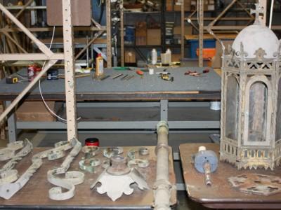 Shrine of the Miraculous Medal Restoration Replication Begins