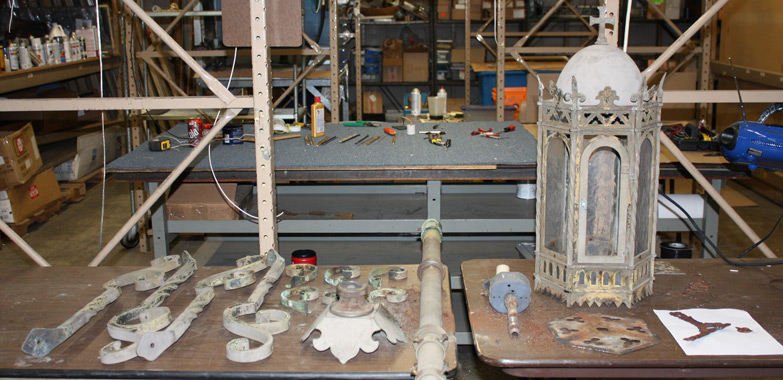 Shrine of the Miraculous Medal Restoration Replication Begins
