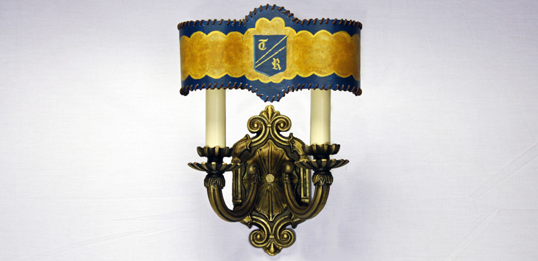 Restoration & Preservation of Mica Shade Wall Sconces Completed