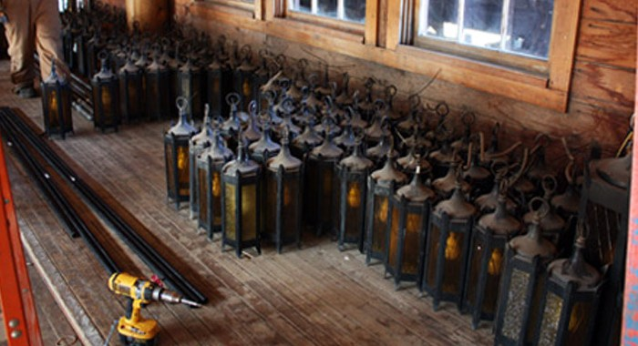 Grand Light Travels to Yellowstone National Park to Remove Lighting Fixtures for Restoration & Replication