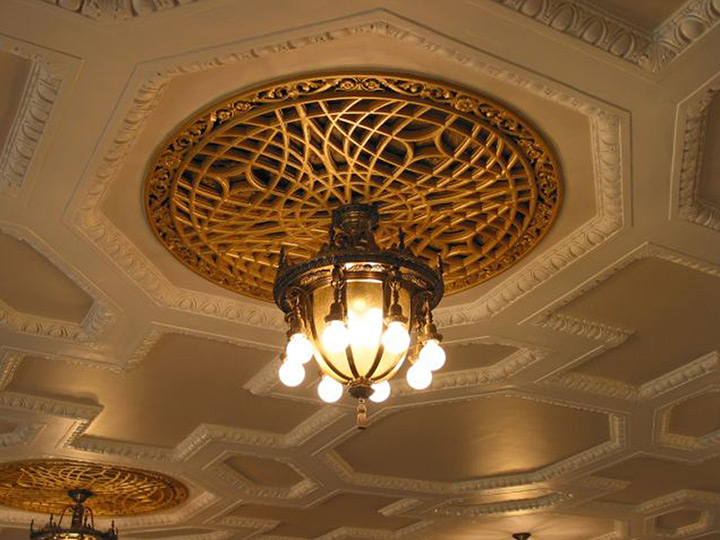 Washington Irving Intermediate School Historic Chandelier Restoration