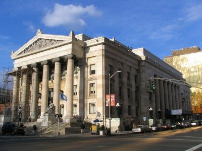 New Haven Courthouse Historic Lighting & Door Restoration Project