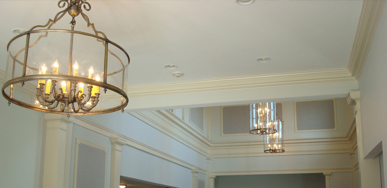grand light custom lighting custom chandeliers installed at tower