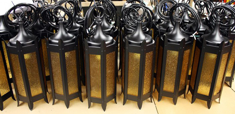 Yellowstone's Old Faithful Lodge Lighting Fixtures Restoration Replication Complete