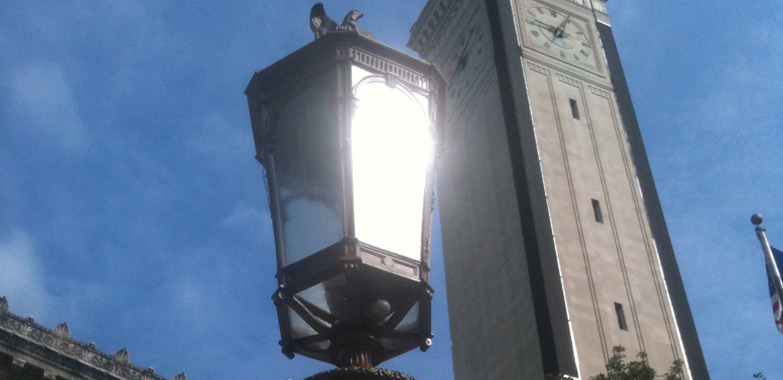 Modification of Exterior Lighting from Springfield City Hall Complete