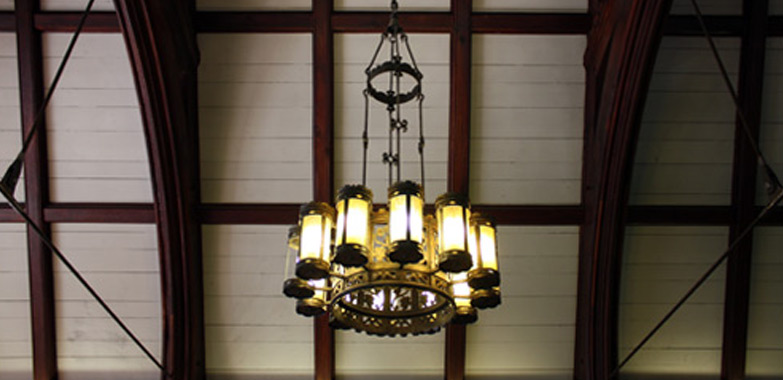 Grand Light Begins Restoration of Lighting Fixtures from Yale's Briton Hadden Memorial Building