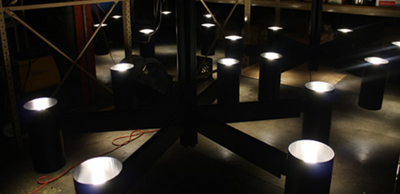 Restoration & Modification of Lighting Fixtures from Yale University's Morse College Completed