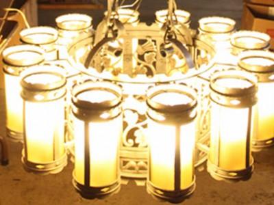Briton Hadden Memorial Building Lighting Restoration Completed