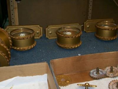 Restoration of Sconces Completed for Dakota Middle School