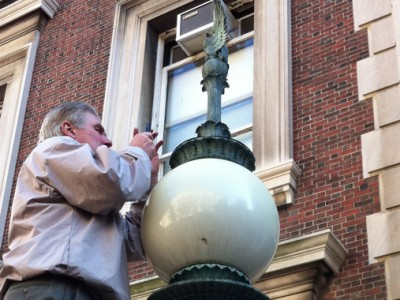 Grand Light Begins Finial Casting Project at Columbia University