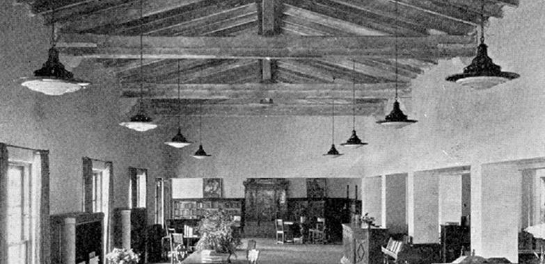 Malaga Cove Library Historic Lighting Replication Begins