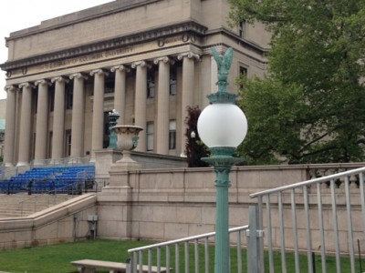 Custom Glass Globes Installed at Columbia University