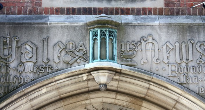 Briton Hadden Memorial Building Chandelier, Wall Sconce, & Exterior Lighting Restoration
