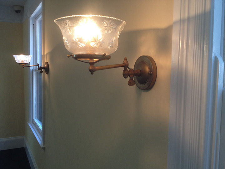 Sagamore Hill National Historic Site Chandelier, Wall Sconce, & Pendant Lighting Restoration