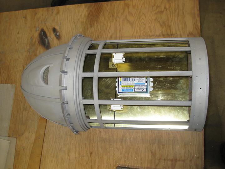 Attica Correctional Facility Exterior Lantern Lighting Restoration