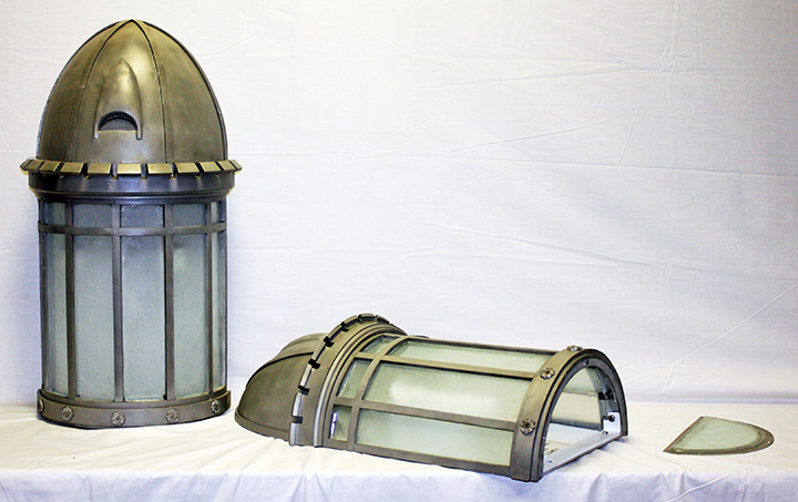 Attica Correctional Facility Exterior Lantern Lighting Restoration