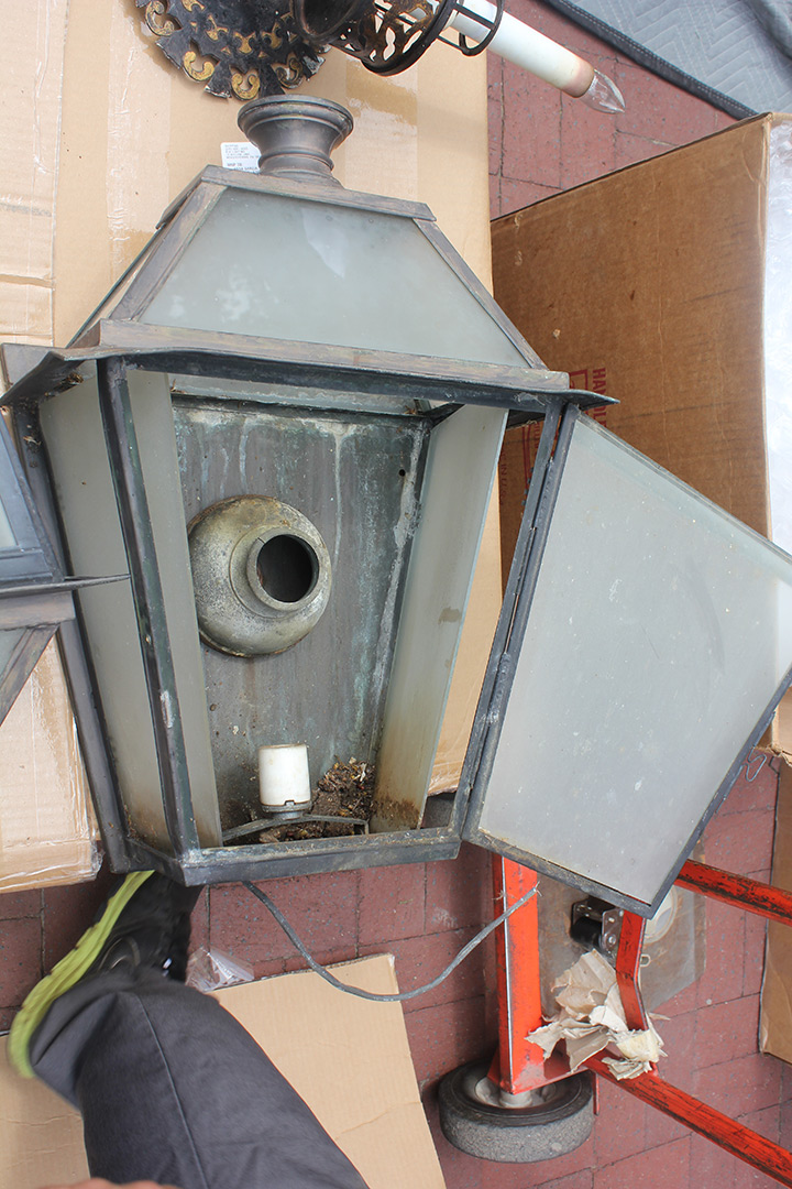 Cornell University Sigma Phi Fraternity House Lighting Restoration