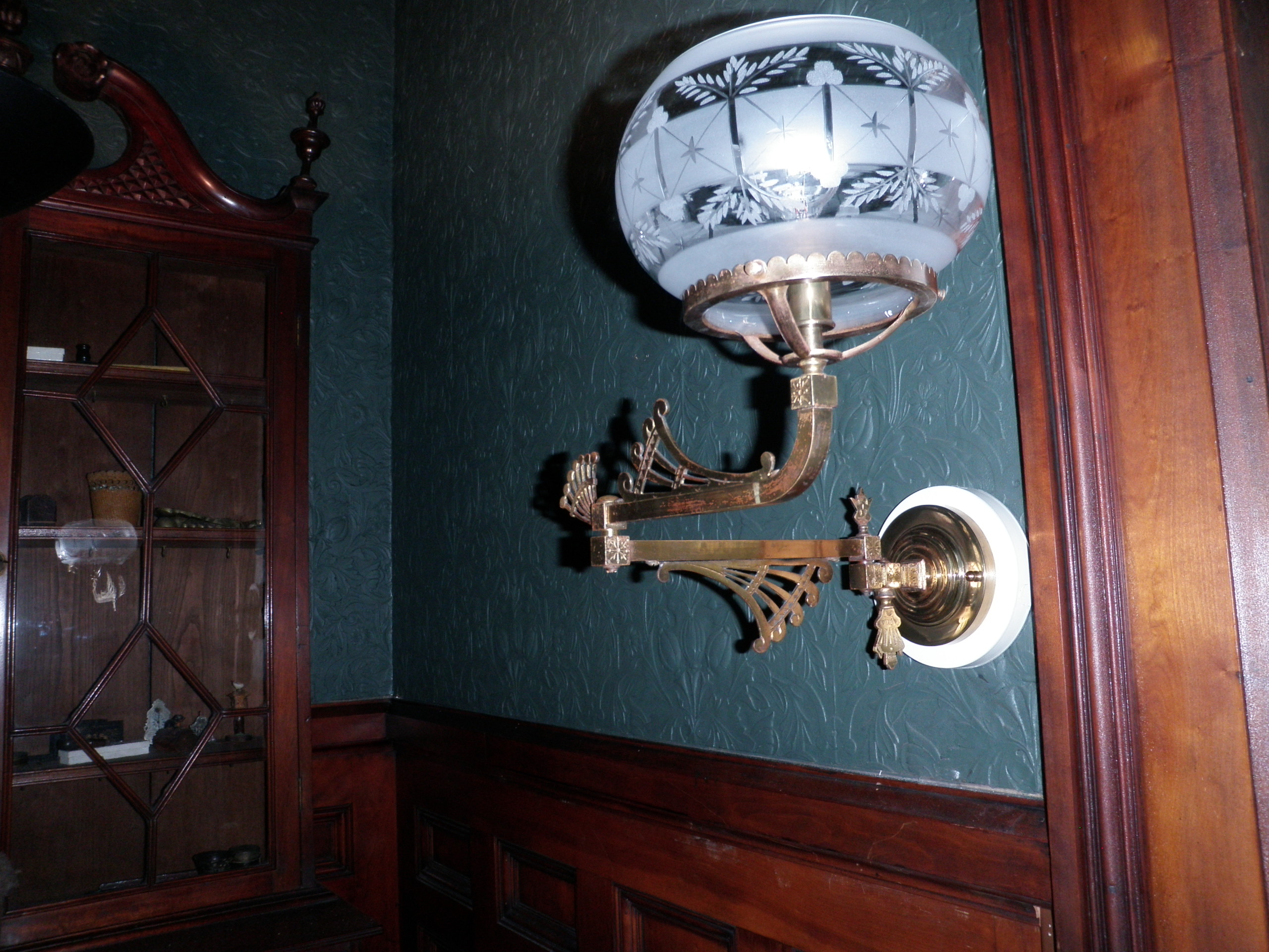 Isham-Terry House Lighting Restoration