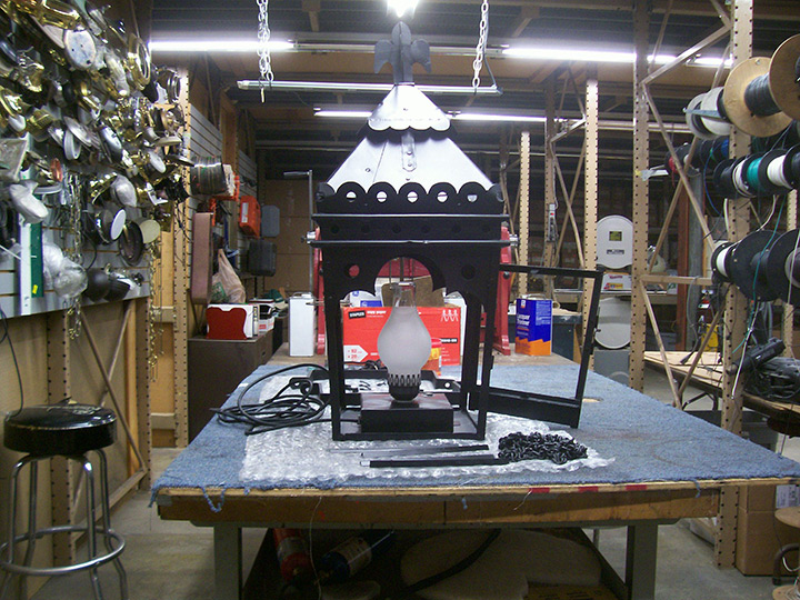 Lionheart Gallery Exterior Lantern Lighting Restoration
