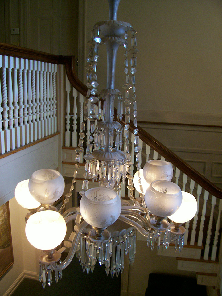 Minute Man National Historical Park Historic Crystal Chandelier Restoration