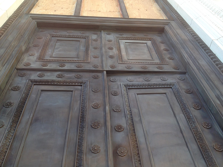 New Haven Courthouse Entry Doors Restoration