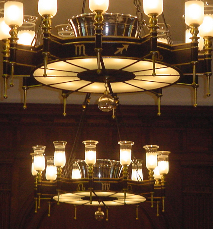 Yale University Divinity School Chandelier Lighting Restoration