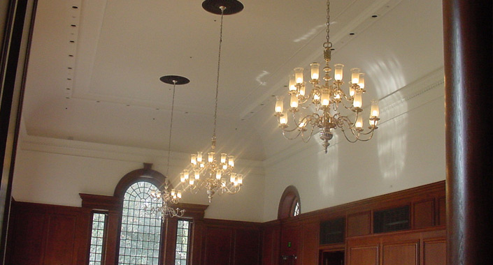 Yale University Silliman College Lighting Restoration
