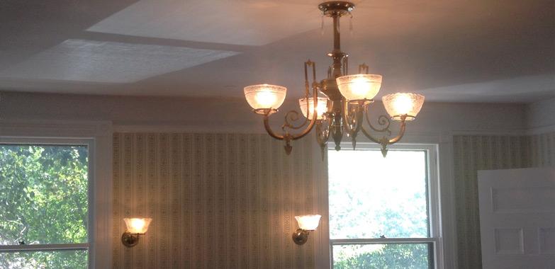 Sagamore Hill National Historic Site Lighting Restoration Complete