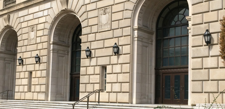 Internal Revenue Service Building Exterior Lighting Restoration Complete