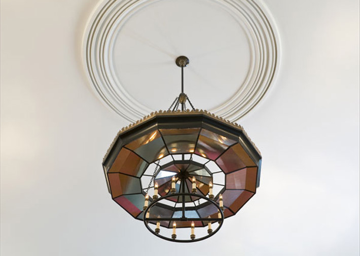 Orford Congregational Church Custom Chandelier Restoration