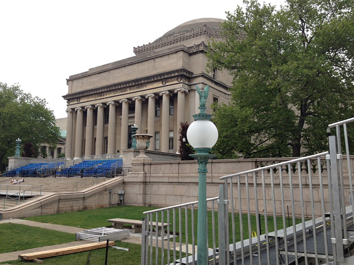Columbia University Morningside Campus Custom Lighting Lamp Posts Replications