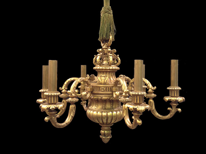 Dartmouth College Sanborn Library Historic Wood Chandeliers Wall Sconces Restoration