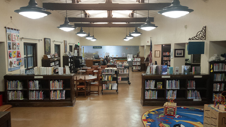 Malaga Cove Library Custom Pendant Lighting