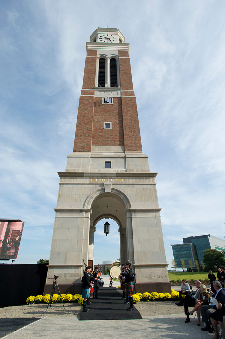 Oakland University Carillon Tower Custom Lantern