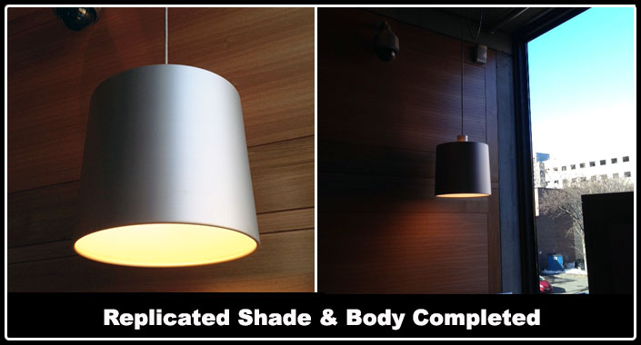 Yale University Center for British Art Custom Lighting Pendant Replication