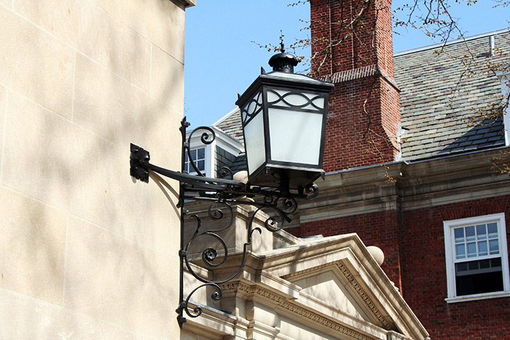 Yale University Silliman College Custom Outdoor Lighting Fixture