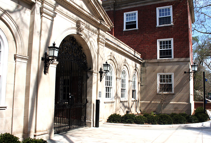 Yale University Silliman College Custom Outdoor Lighting Fixture