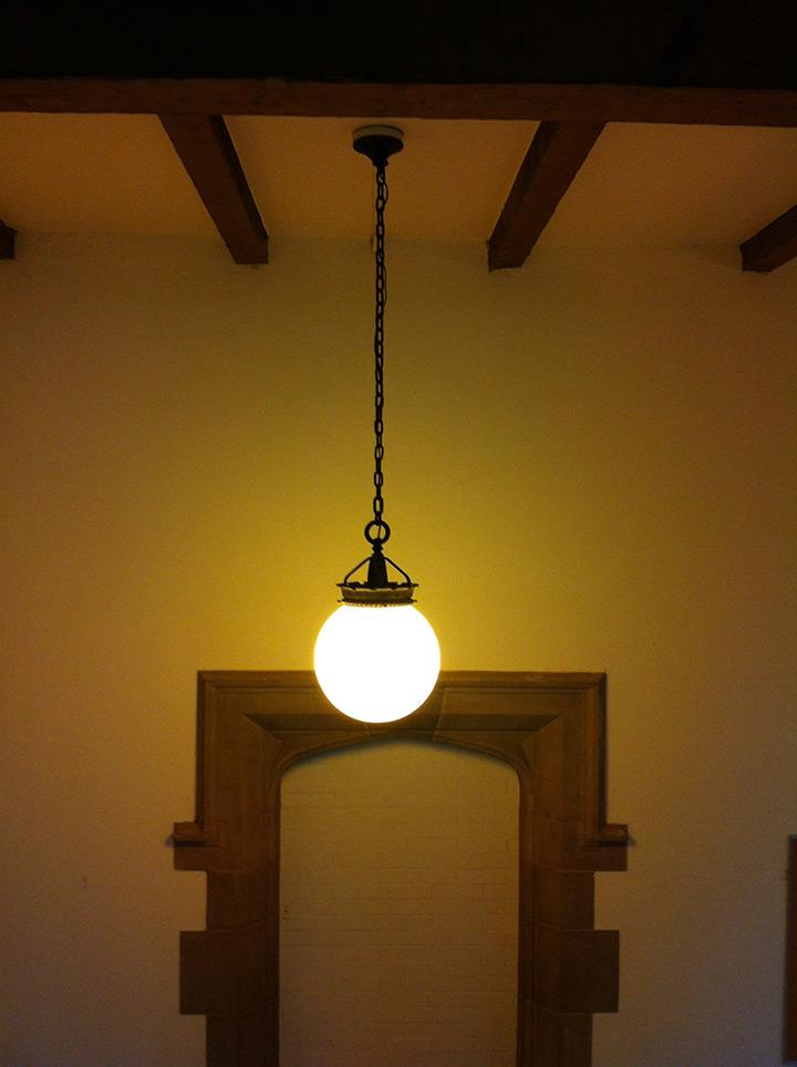 Yale University Sterling Chemistry Building Custom Lighting Pendant Replication