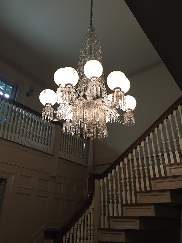 Minute Man National Historical Park Chandelier Cleaning 1