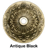 Antique Black Finish