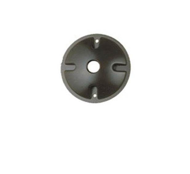 cast aluminum medium round one hole canopy landscape lighting