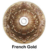 French Gold Finish