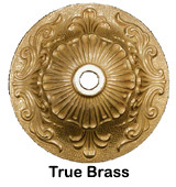True Brass Finish