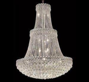 Huge crystal chandelier candle tubes for light fittings shop wayfair for the best extra large crystal chandelier similarly an ornate crystal chandelier may be the perfect finishing touch aloadofball Images